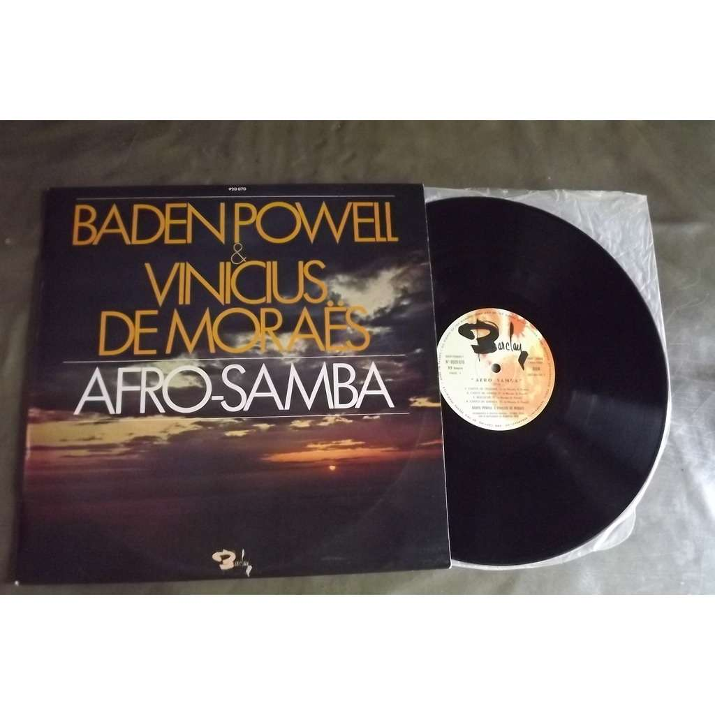 POWELL BADEN VINICIUS DE MORAES Afro Samba