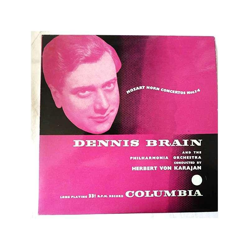 Mozart Horn Concertos Nos 1 4 By Brain Dennis Herbert