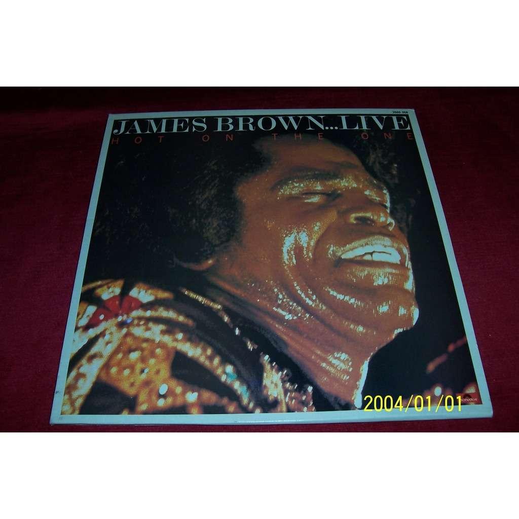 Hot On The One °°°live De James Brown, 33T X 2 Chez Oemie