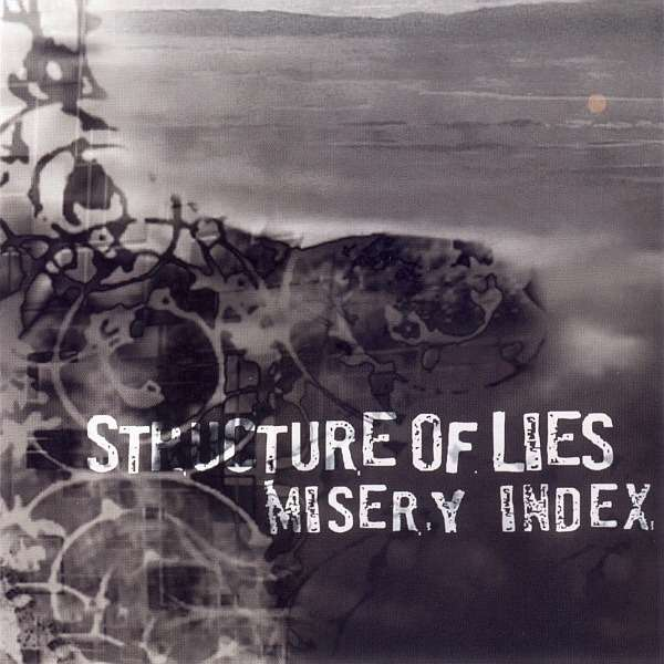 STRUCTURE OF LIES / MISERY INDEX Split CD
