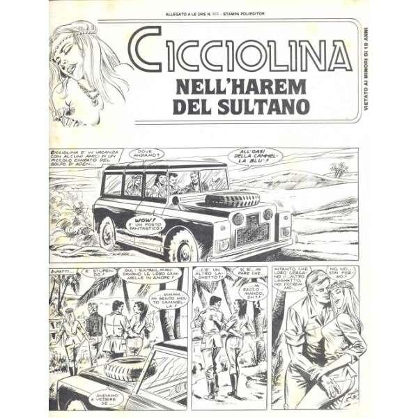Ilona Staller / Cicciolina Cicciolina Nell'Harem Del Sultano (Italian 80s full Ilona Staller sexy comics magazine)