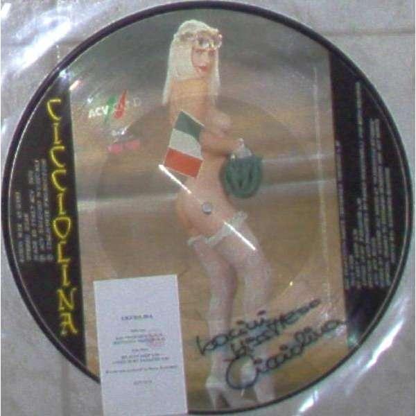 Ilona Staller / Cicciolina San Francisco Dance (Italian 1989 Ltd 3-trk 12EP Picture Disc SIGNED copy & insert)