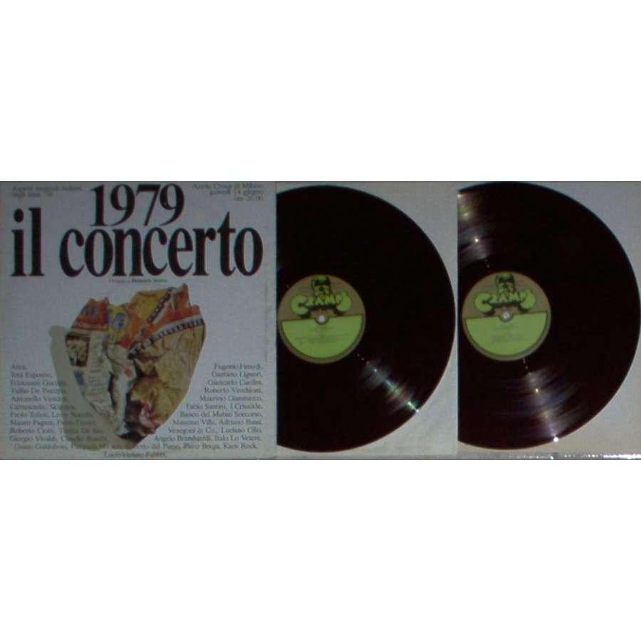 Skiantos / Banco Del Mutuo Soccorso 1979 Il Concerto - Omaggio A Demetrio Stratos (Italian 1979 17-trk 2LP Cramps lbl full gf ps)
