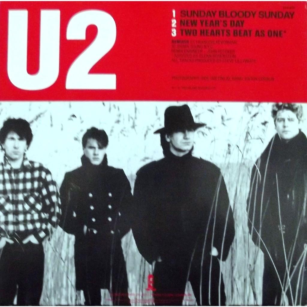 Sunday Bloody Sunday De U2 Maxi 45t Chez Vinyl59 Ref