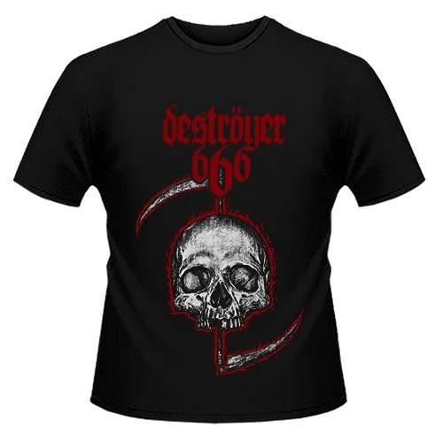 NEW Destroyer 666 /'Skull/' T shirt
