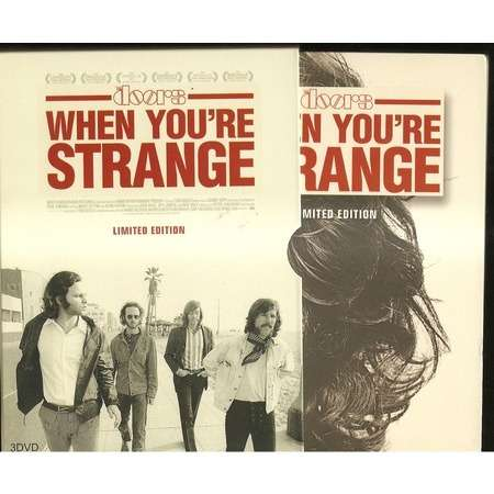 doors when youu0027re strange limited edition  sc 1 st  CD and LP & When youu0027re strange limited edition by Doors DVD Box with ...