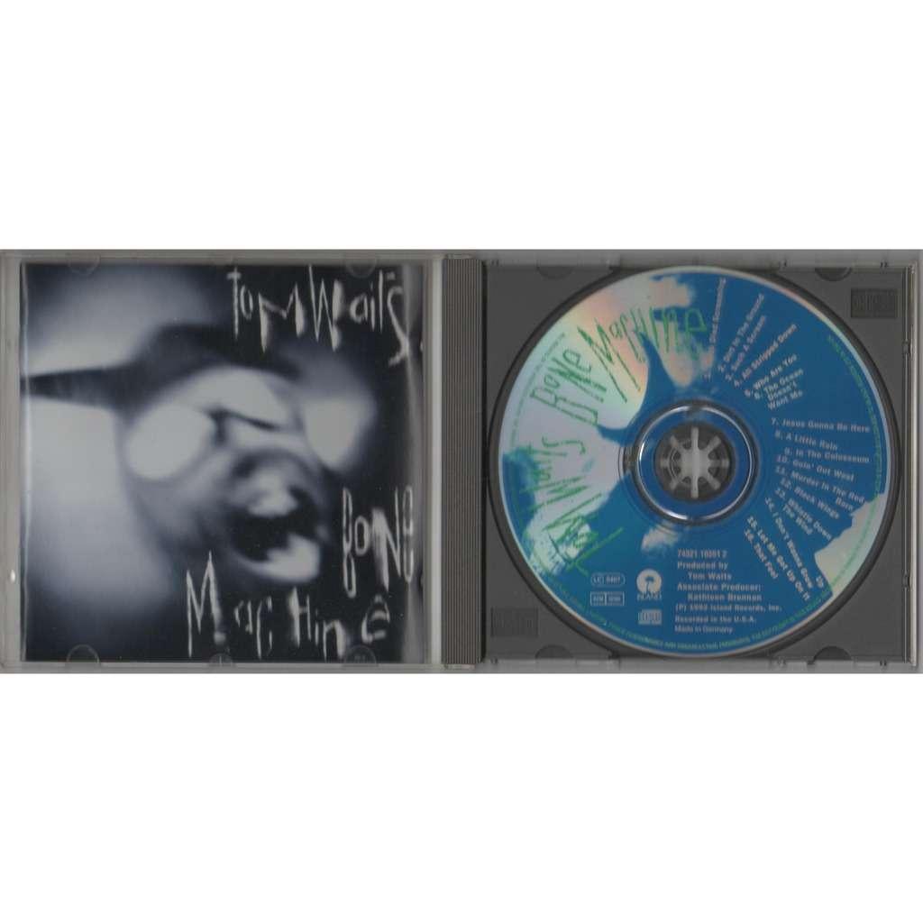 Tom Waits Bone Machine (German 1992 original 16-trk CD album full ps)