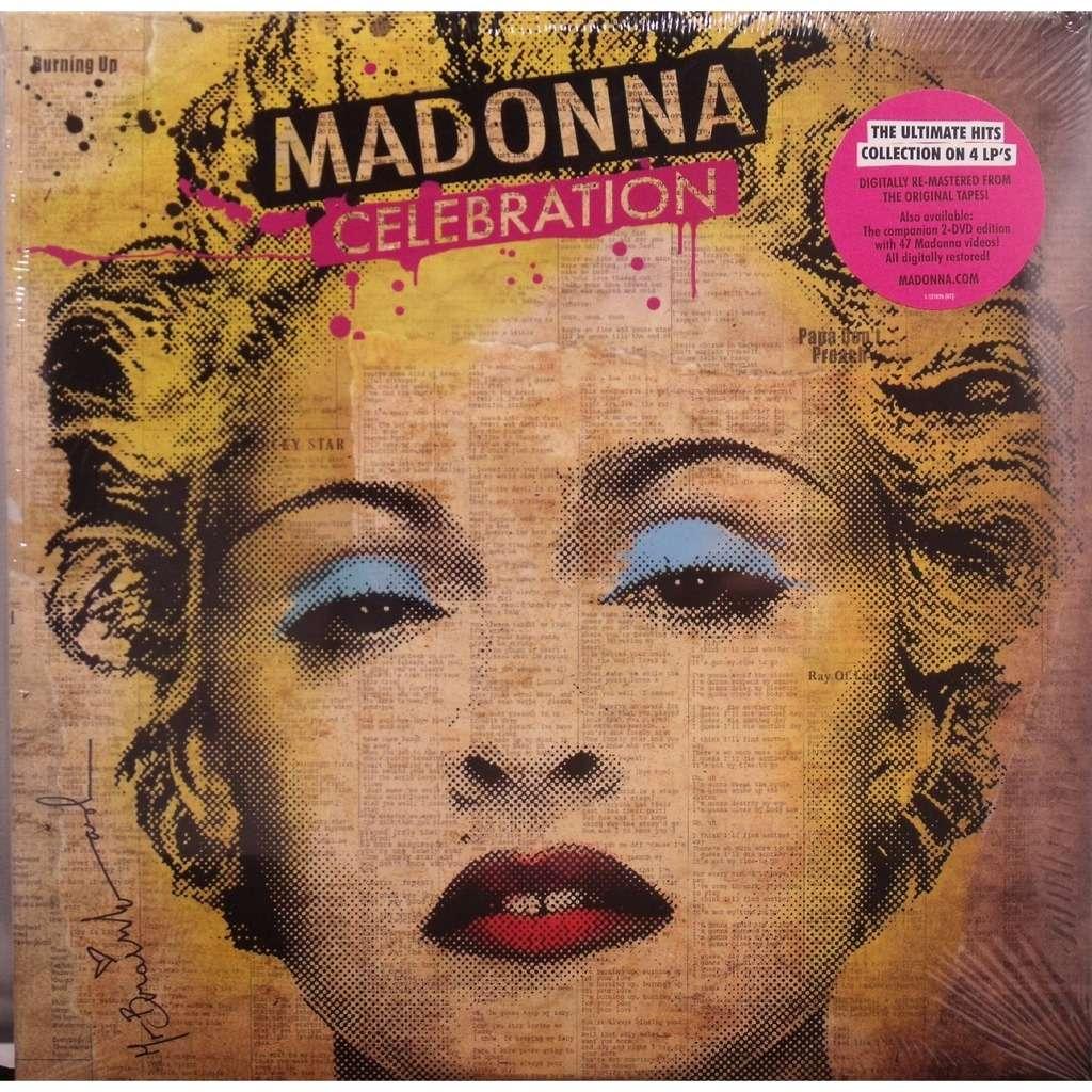 Celebration 4 Lp By Madonna Lp X 4 With Cenotex Ref
