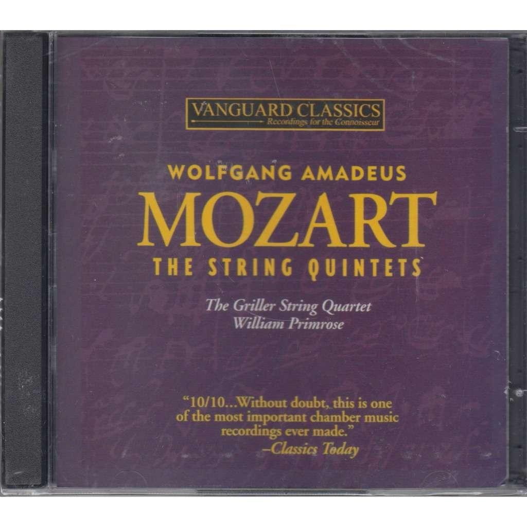 Mozart five string quintets, adagio & fugue kv 546 vanguard 2cd new ...
