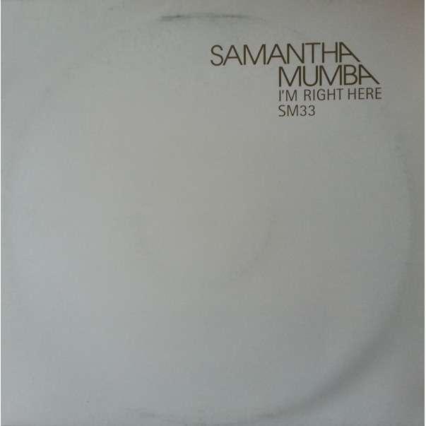 Samantha Mumba Samantha Mumba - I'm Right Here