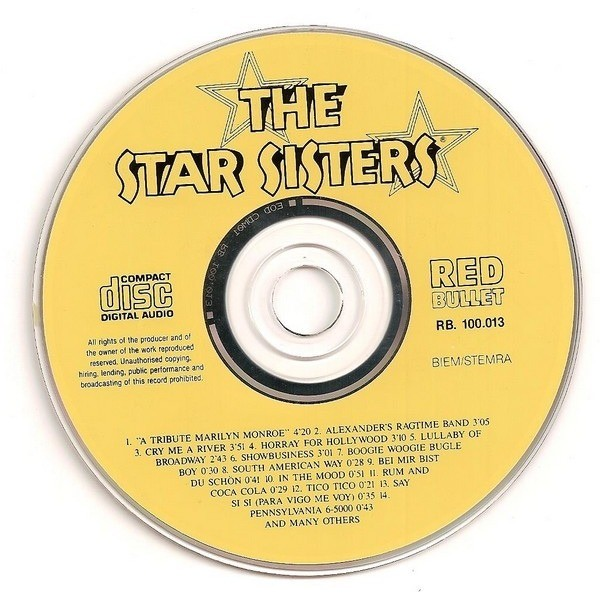 THE STAR SISTERS Hooray For The Star Sisters (Red Bullet cd)