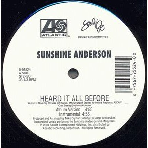 Sunshine Anderson Heard It All Before