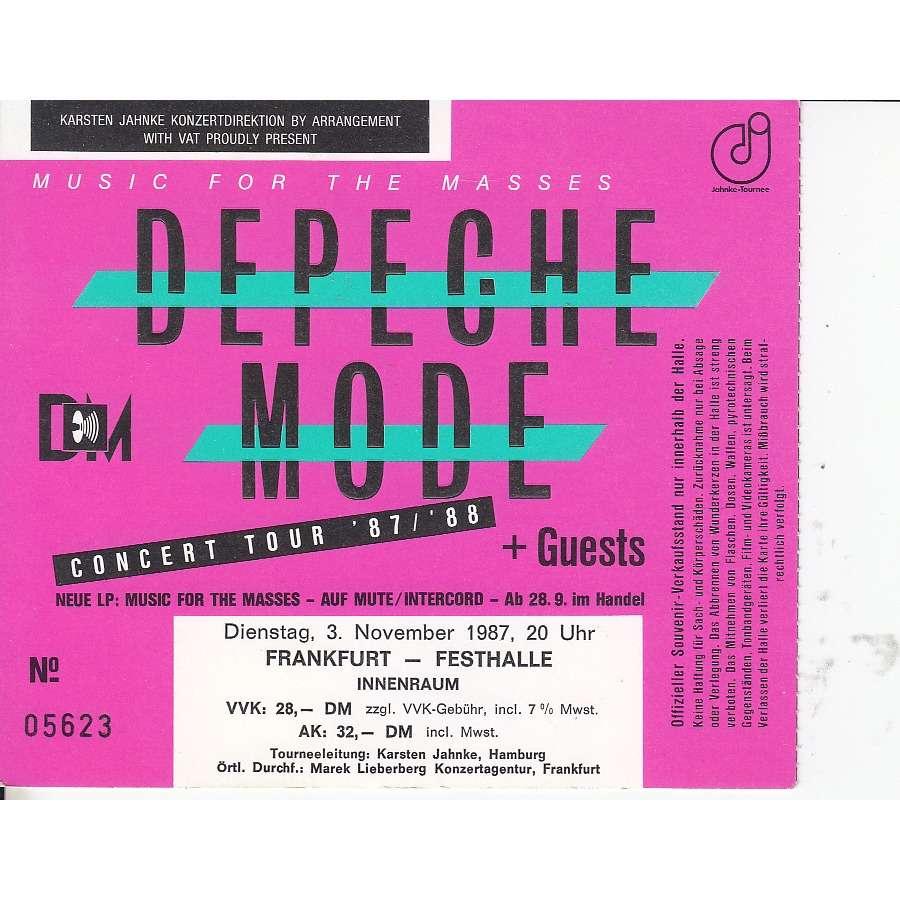 Depeche Mode Frankfurt Tickets
