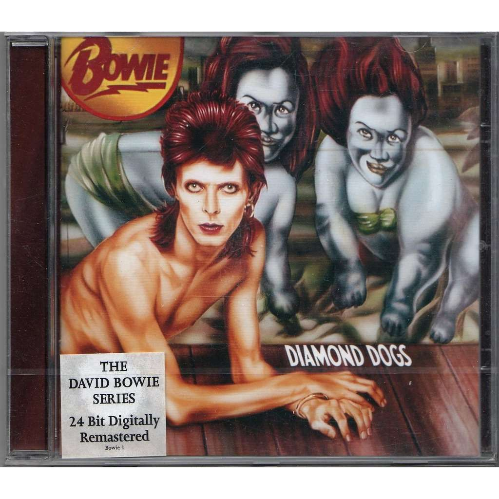 David Bowie Diamond Dogs (Euro 1999 'David Bowie Series' 11-trk CD stickered ps-sealed copy!!)