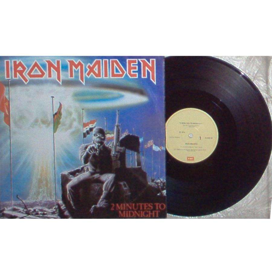 Iron Maiden 2 Minutes to Midnight (New Zeland 1984 Ltd 3-trk 12EP full ps)