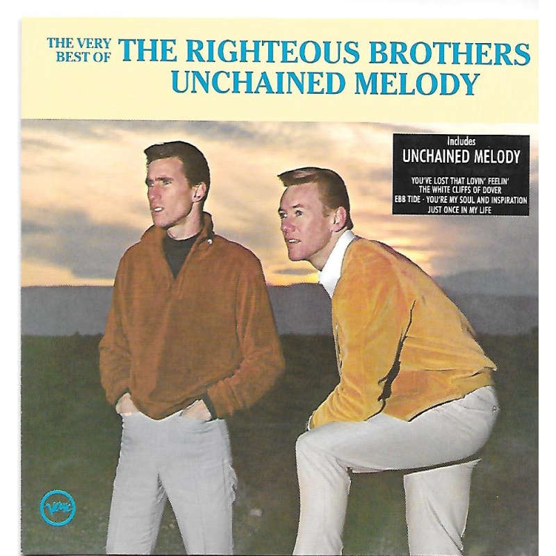 The Very Best Of By The Righteous Brothers Cd With