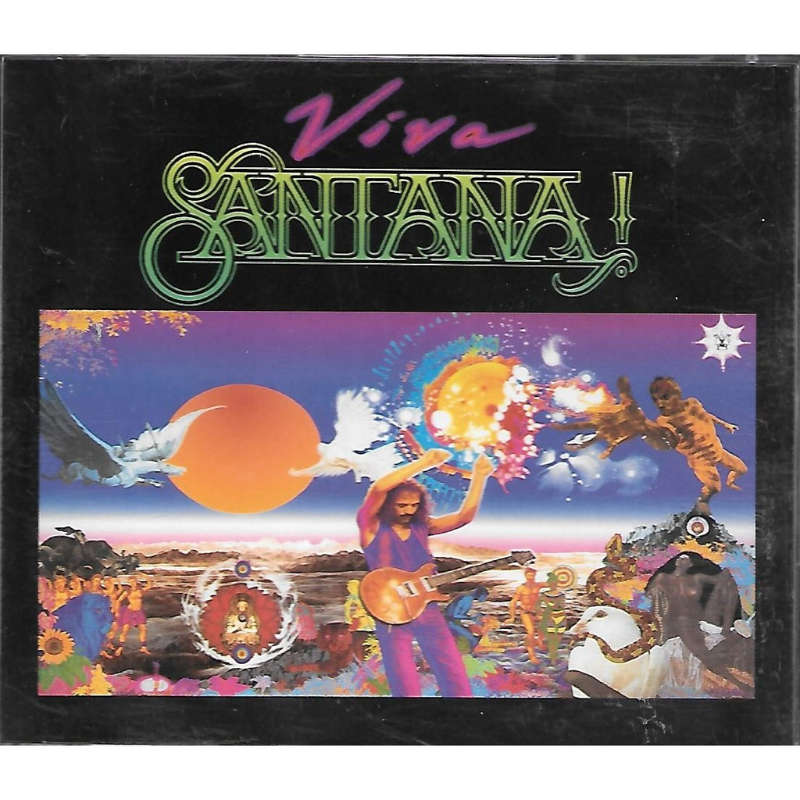 Viva Santana By Santana Cd X 2 With Skyrock91 Ref 117920665