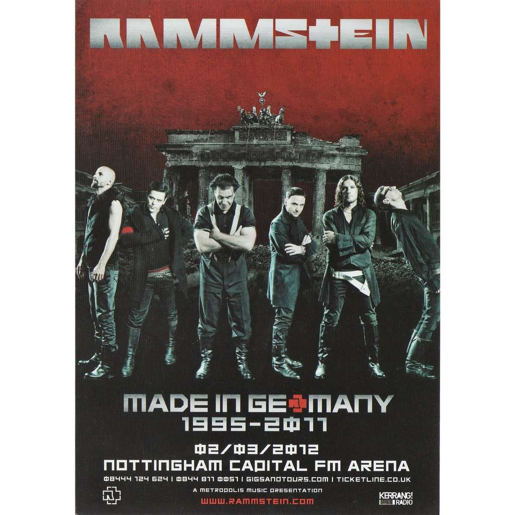 Rammstein  Us Tour Shirt