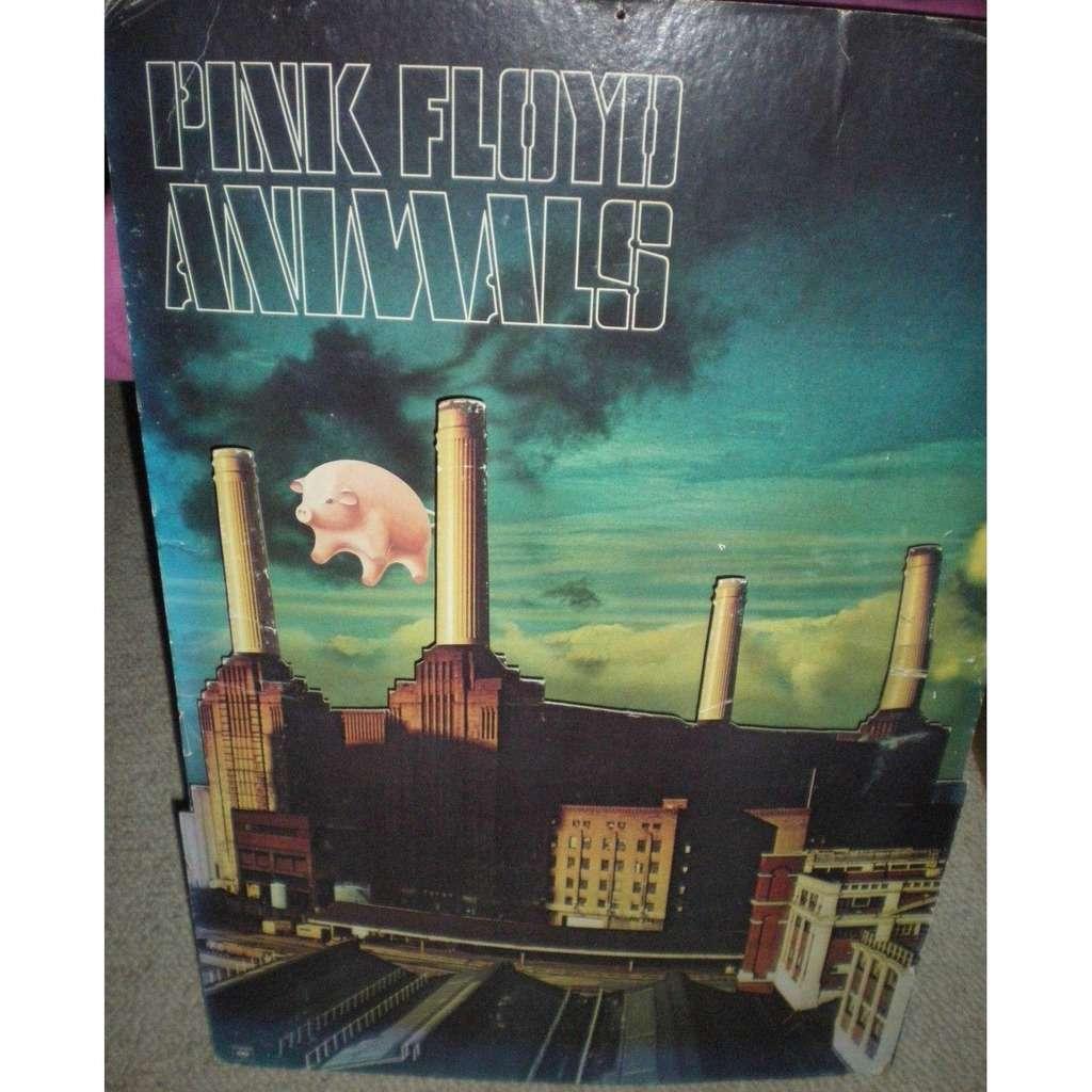 animals usa 1977 original columbia large card 3d promo