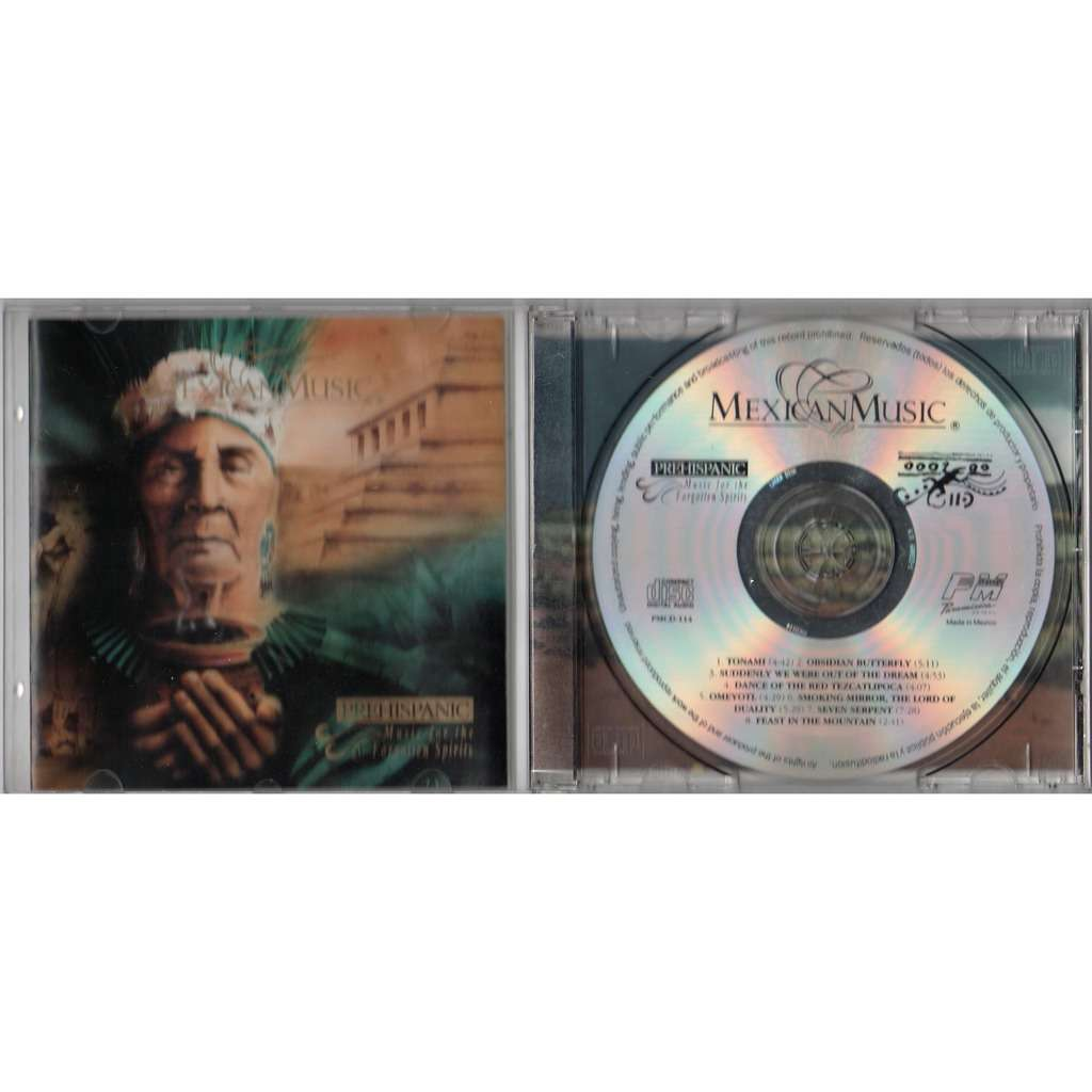 Prehispanic Music For The Forgotten Spirits (Mexico 8-trk CD full ps)