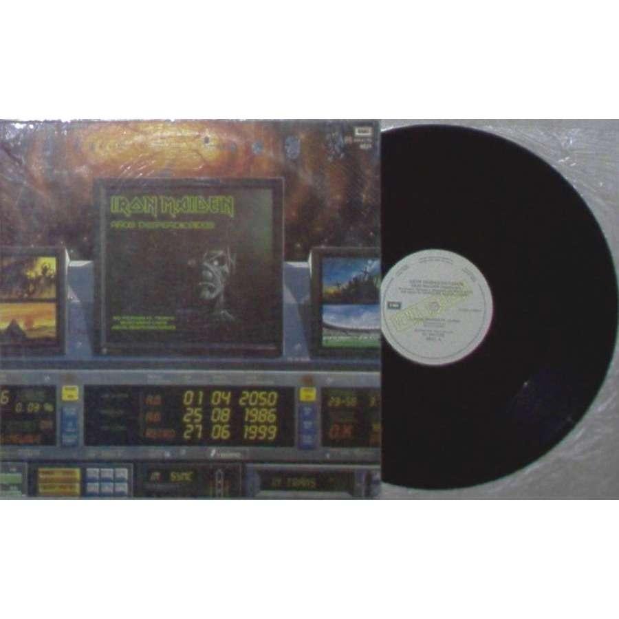 iron maiden Anos Desperdiciados (Argentina 1986 3-trk w/label promo 12EP unique spanish ps)