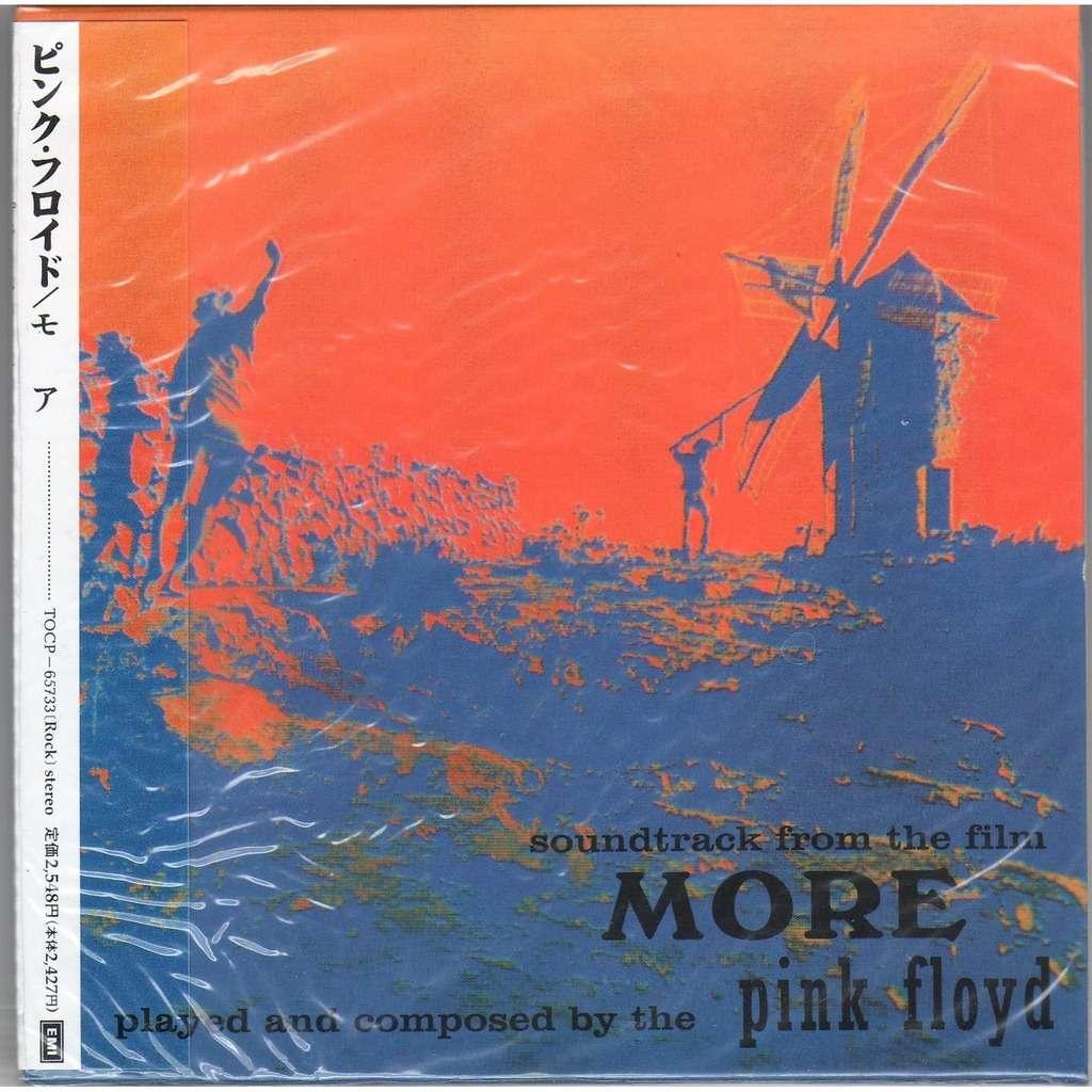 Pink Floyd More (Japan Ltd 13-trk 'LPstyle' CD album unique card ps &  booklet & obi)