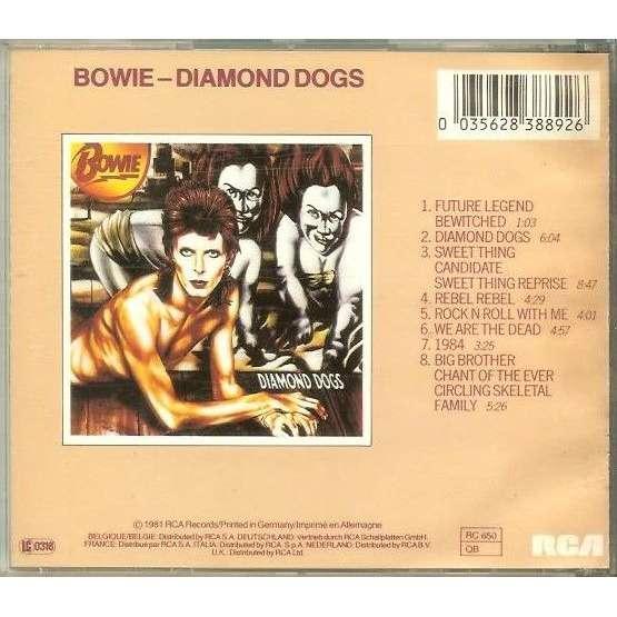 DAVID BOWIE Diamond Dogs (Edition Originale RCA 1981)