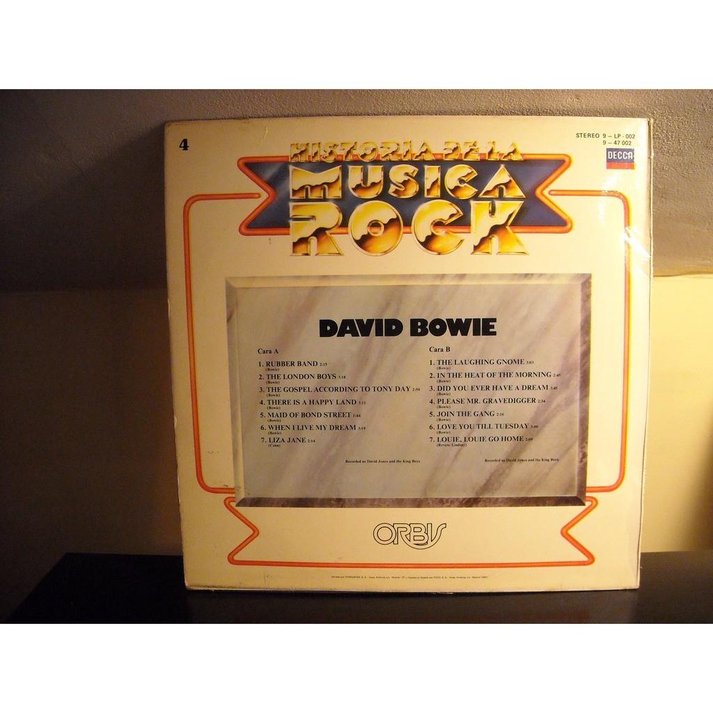 David Bowie Historia de la Musica Rock Nº 4 (Spanish Edition)