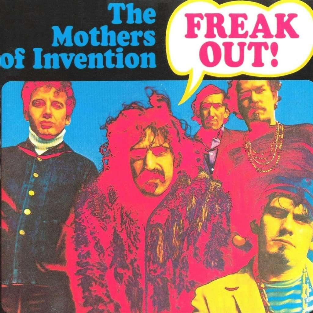 Freak Out By Frank Zappa The Mothers Of Invention Cd