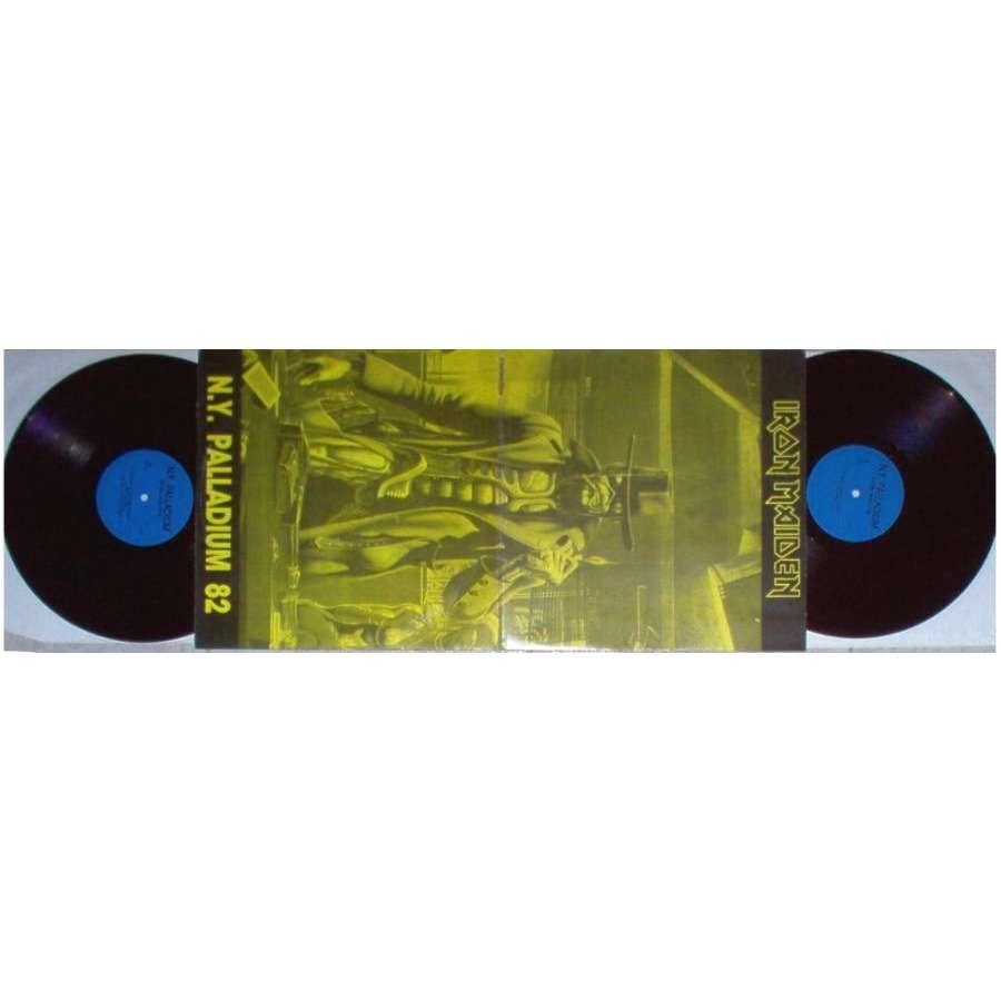 iron maiden NY Palladium 82 (Ltd live 2LP set deluxe gatefold ps)