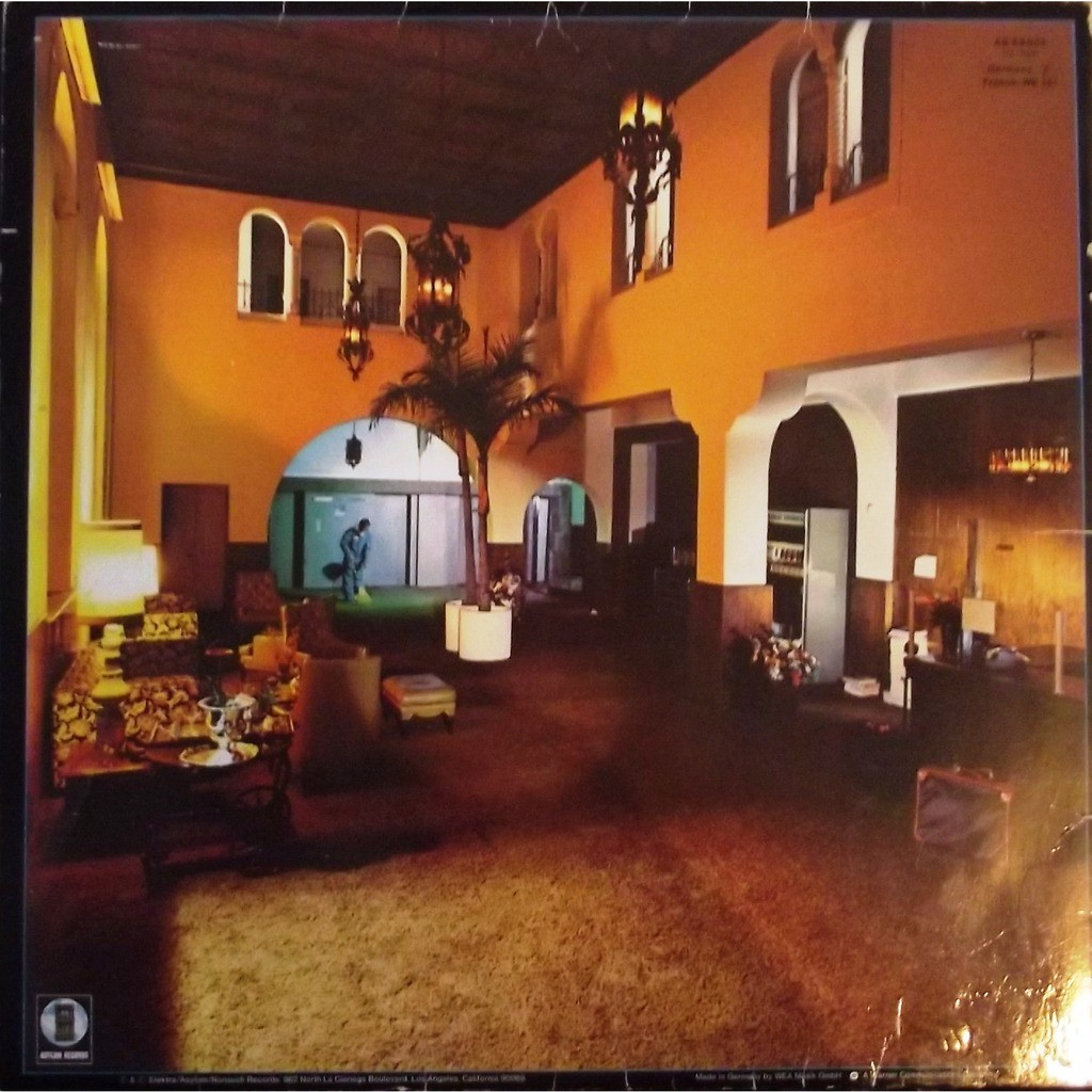 Hotel California Gatefold By Eagles Lp With Vinyl59