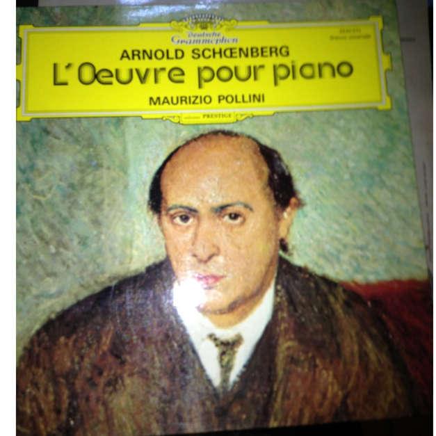 maurizio pollini Arnold Schoenberg : L'oeuvre pour piano