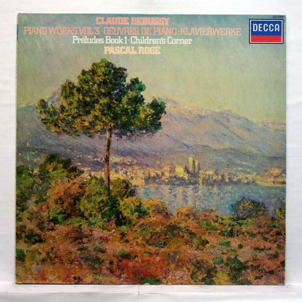 Debussy Piano Works Vol 3 Preludes Book 1 Children S