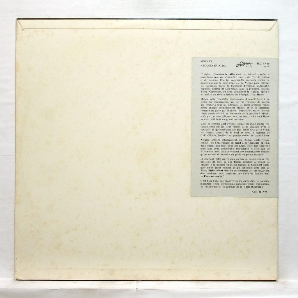 Ruggero Maghini Mozart : Ascanio in alba