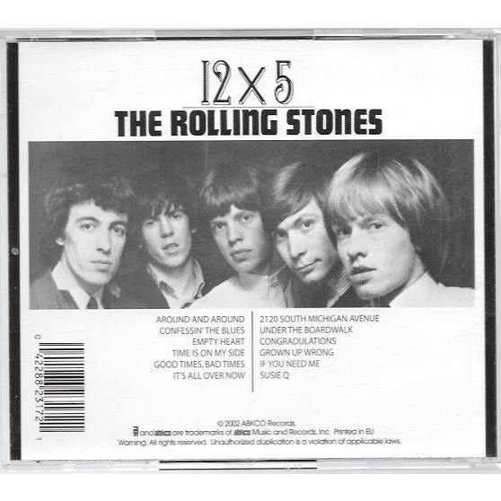 12 X 5 Dsd Remastered By The Rolling Stones Cd With