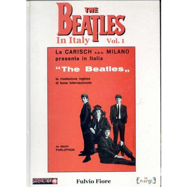 Beatles The Beatles in Italy VOL.1 (Italian 1999 120 pag. deluxe illustrated hardback book)