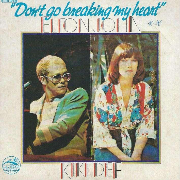 JOHN ELTON & KIKI DEE don't go breaking my heart / snow queen