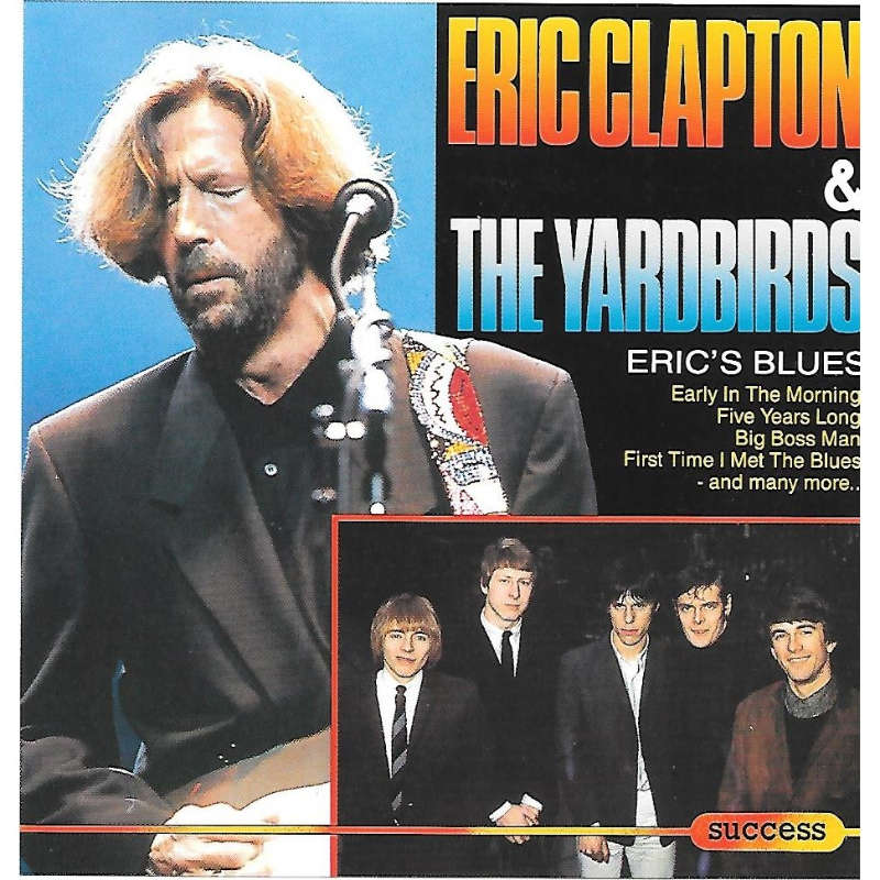Eric S Blues By Eric Clapton Amp The Yardbirds Cd With
