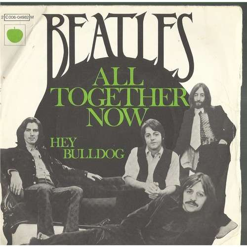 all together now the beatles 7 sp 売り手