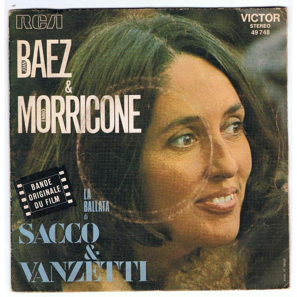 La ballata di sacco e vanzetti / here's to you by Joan Baez / Ennio  Morricone, 7inch x 1 with sonic-records - Ref:3046385924