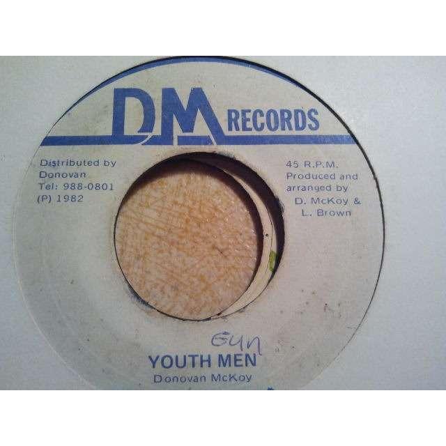 DONOVAN McKOY 'YOUTH MEN / VERSION' ORIG.
