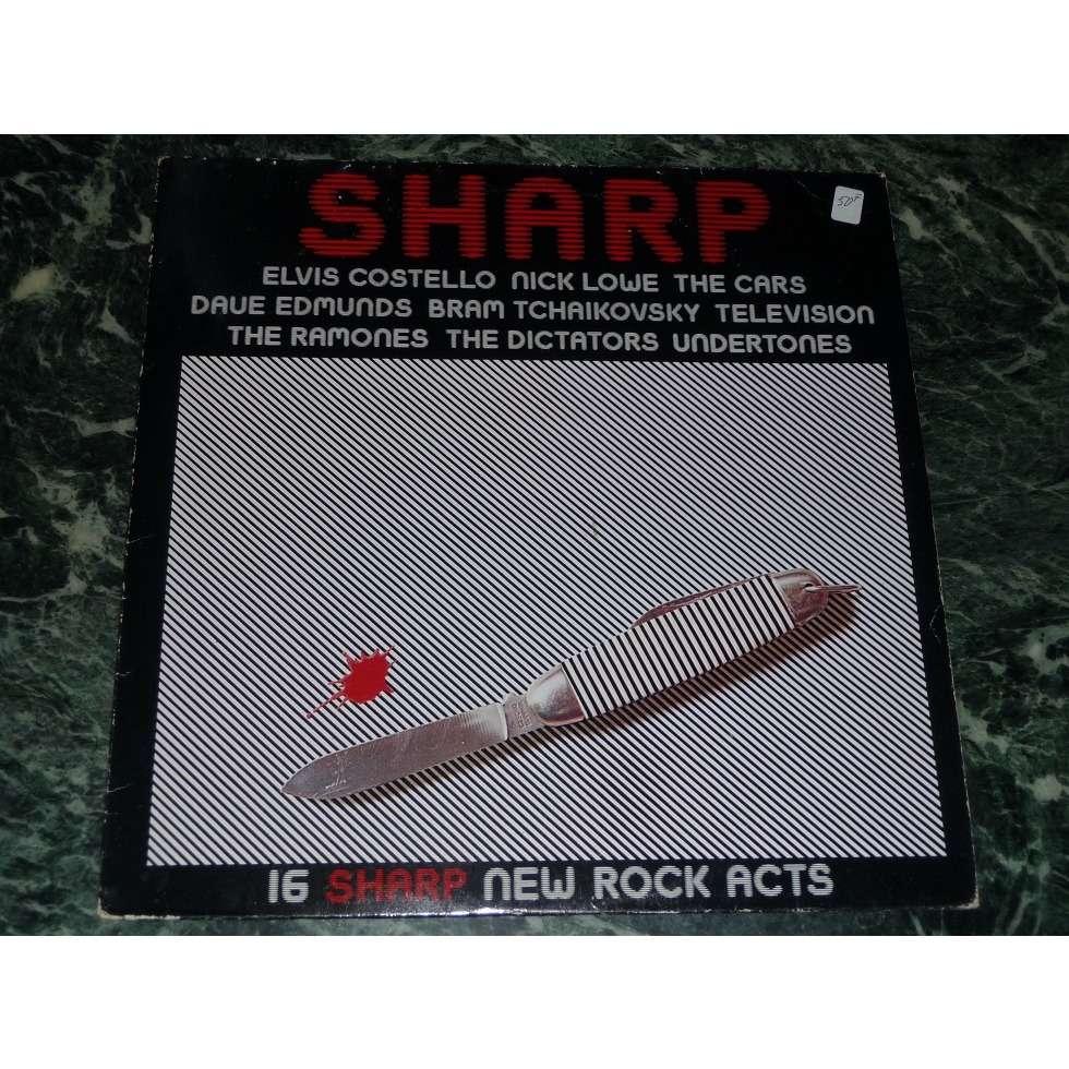 Various(Undertones,Ramones,Pop Group,Television,.) 16 sharp new rock acts