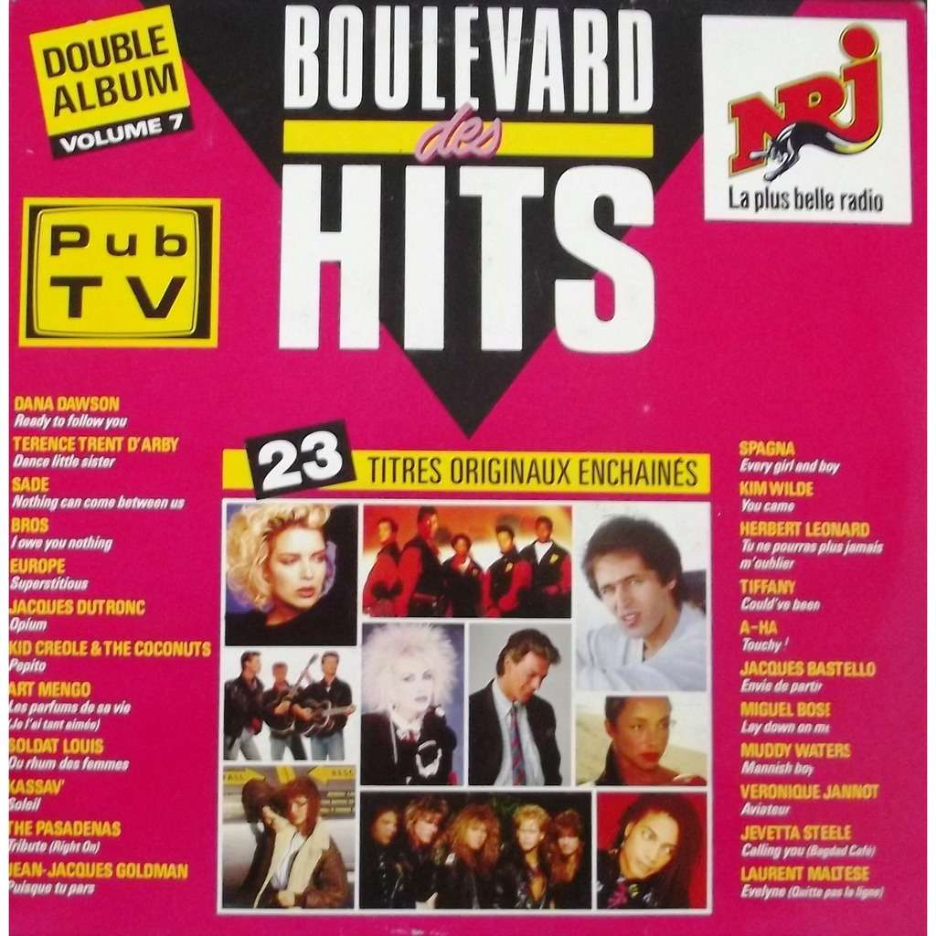 goldman, sade, europe, kim wilde, bros... boulevard des hits volume 7