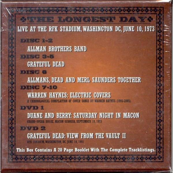 The Longest Day Rfk Stadium Weashington Dc 10 06 1973 Etc
