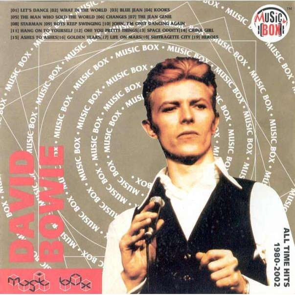 David Bowie All Time Hits 1980 2002 Russian Only Ltd 19