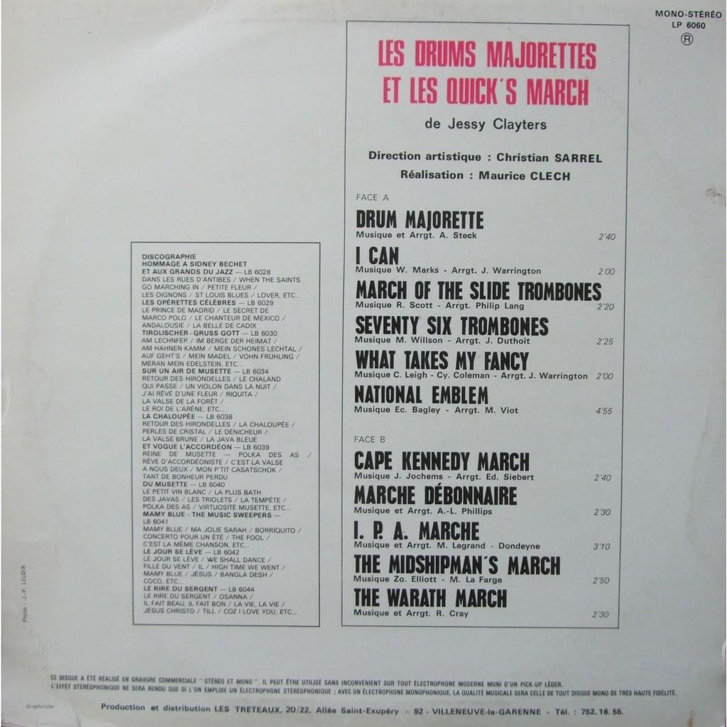 jessy clayters - drums majorettes et quick's march salut ! majorettes