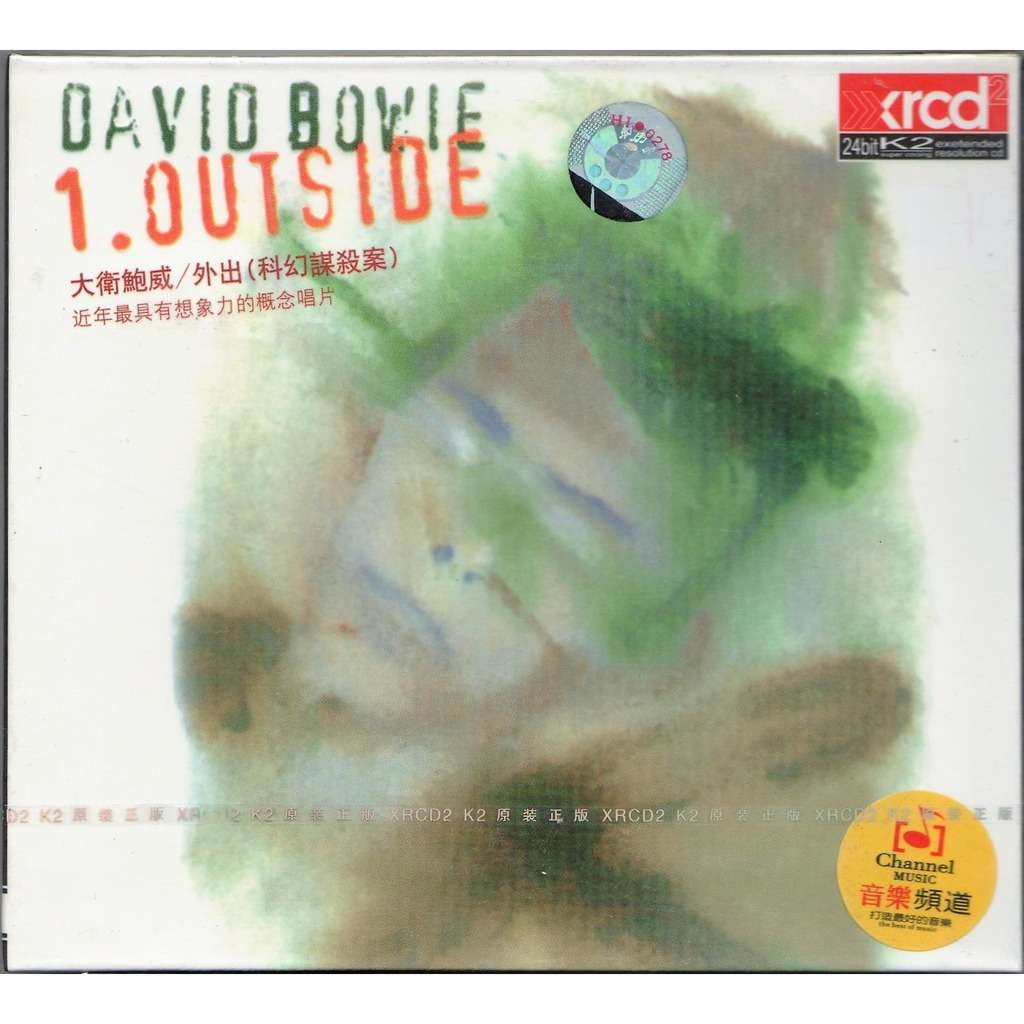 David Bowie 1.Outside (Taiwan 1995 Ltd 36-trk 2CD set unique package ps)