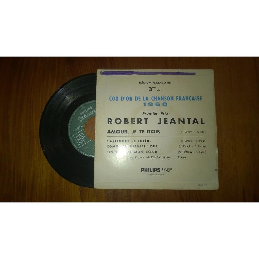 JEANTAL Robert Amour je te dois/60