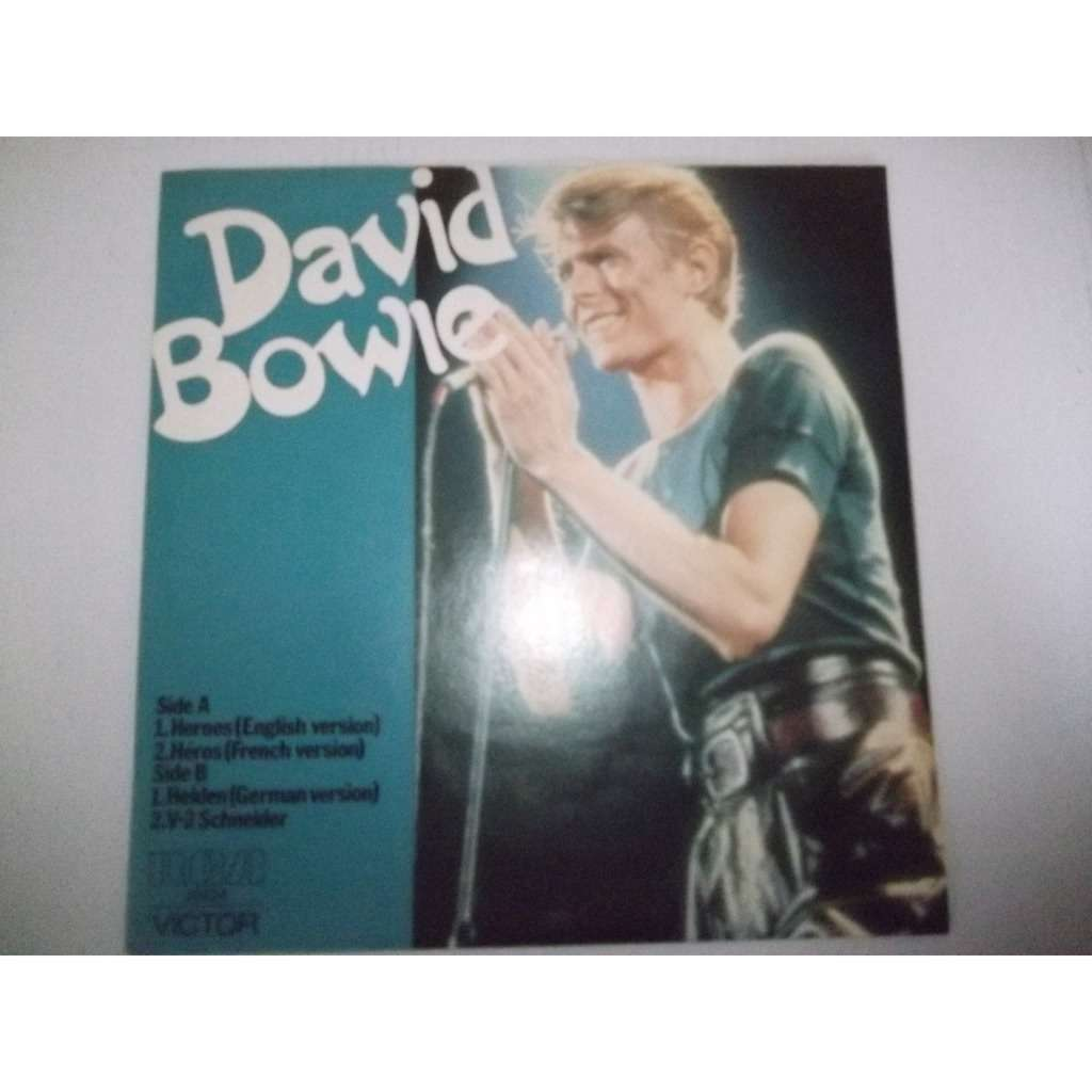 David Bowie Heroes (Australian 1977 Ltd 4-trk 7ep unique ps)