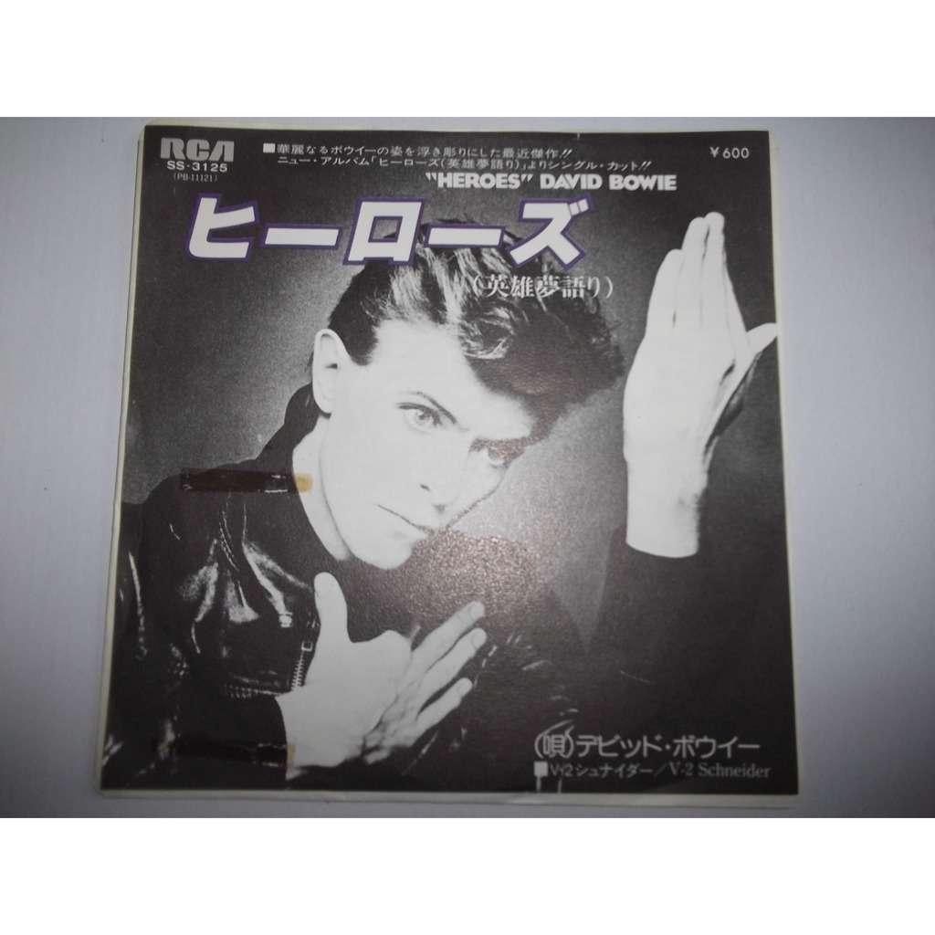 Bowie, David Heroes